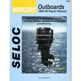 Seloc Service Manual - Mercury Outboards - 6Cyl - 1965-89