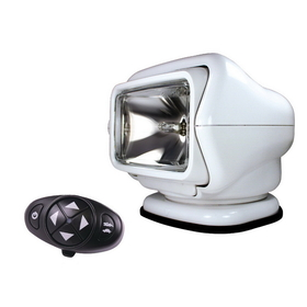Golight 3100 Stryker Searchlight 12V w/Wireless Dash Remote - White