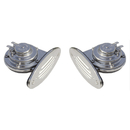 Ongaro Mini Dual Drop-In Horn w/SS Grills High & Low Pitch