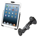 RAM Mount Suction Cup Mount w/Apple iPad mini EZ-ROLL'R Cradle