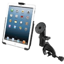 RAM Mount Yoke Clamp Mount w/Apple iPad mini EZ-ROLL'R Cradle