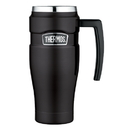 Thermos Stainless King Vacuum Insulated Travel Mug - 16 oz. - Stainless Steel/Matte Black