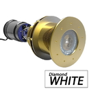 Bluefin LED Great White GW16 Thru-Hull Underwater LED Light - 5600 Lumens - Diamond White