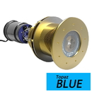 Bluefin LED Great White GW16 Thru-Hull Underwater LED Light - 5600 Lumens - Topaz Blue