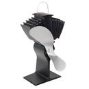 Caframo Ecofan Airmax 812AM Heat Powered Stove Fan - Nickel Blade