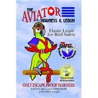 Aviator AHL Harness & Leash Large