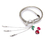 TopTie Rhinestone Cheery Decoration Metal Waist Chain