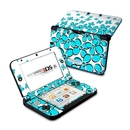 DecalGirl N3DX-DFIELD-TEAL Nintendo 3DS XL Skin - Daisy Field - Teal (Skin Only)