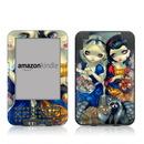 DecalGirl Kindle Keyboard Skin - Alice & Snow White (Skin Only)