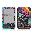 DecalGirl Kindle Keyboard Skin - Out to Space (Skin Only)