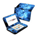 DecalGirl Nintendo 3DS XL Skin - Blue Quantum Waves (Skin Only)