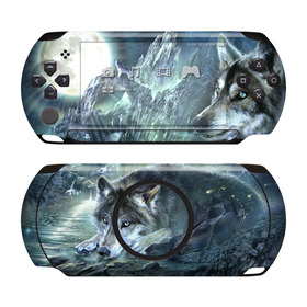 DecalGirl Sony PSP Street Skin - Bark At The Moon