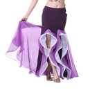 BellyLady Women's Belly Dance Fishtail Skirt with Ruffle