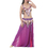 BellyLady Tribal Fringe Sequin Bra & Waist Belt, Belly Dancer Costume Set