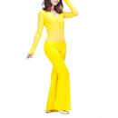 BellyLady Unitard-body Belly Dance/Yoga Costume, Long Sleeve Top and Pants