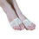 BellyLady 1 Pair Soft Belly Dance Ballet Toe Pad Feet Thong Half Sole