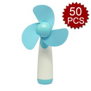 Aspire 50 Pcs Outdoor Handheld Fan Battery Operated Mini Fan For Home