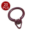 Aspire 20 Pcs Curtain Rods Rings / Shower Curtain Rings
