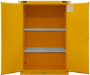 Durham 1090S-50 Flammable Safety Cabinets, 90 Gal., 43 X 34 X 66-3/8