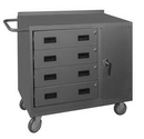Durham 2211-95 16 Gauge Mobile Bench Cabinets