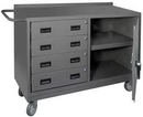 Durham 2221-95 16 Gauge Mobile Bench Cabinets