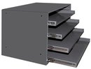 Durham 303B-15.75-95 Large Compartment Boxes, 4Lr 15.75 Bearing Rack
