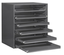 Durham 321B-95 Large Compartment Boxes, 6Lr Bearing Rack
