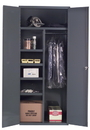 Durham 3500-HDL-95 Janitorial Cabinets, 36X24X84, 4 Shelves