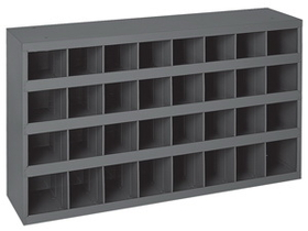 "Durham 357-95 12"" Deep Sloped Parts Bins"