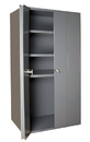Durham 3950-3S-95 Heavy Duty 14 Gauge Cabinets Space Saving Bi-Fold Door Cabinets
