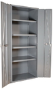 Durham 3953-4S-95 Heavy Duty 14 Gauge Cabinets Space Saving Bi-Fold Door Cabinets