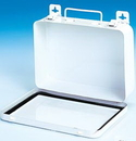 Durham 506-43-N/P First Aid Unit Kit Boxes (Metal), 16 Unit Horixontal, No Partition