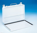 Durham 510-43-A First Aid Unit Kit Boxes (Metal), 36 Unit, One Offset Partition