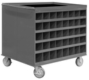 Durham 664-95 2-Sided Mobile Cart/Work Stations