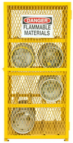 Durham EGCC8-25 Gas Cylinder Storage Cabinets