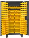 Durham HDC36-126-95 12 Gauge Cabinets with Hook-On Bins, 24X36X78, 126 Bins