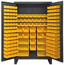 Durham HDC48-162-95 12 Gauge Cabinets with Hook-On Bins, 24X48X78, 162 Bins