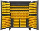 Durham HDC60-198-95 12 Gauge Cabinets with Hook-On Bins, 24X60X78, 198 Bins