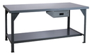 Durham HDWB-3660-177-95 Extra Heavy-Duty Work Benches, 36X60X34