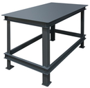 Durham HWBMT-364824-95 Extra Heavy Duty Machine Tables - Top shelf Only, 36X48X24