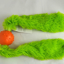 Doggles Toy - Tails - Green/Orange Large