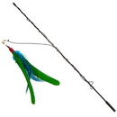 Go Cat 00010A Da Bird Rod and Feather Toy
