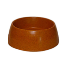Green Pet Bamboo Dog Bowl Small Orange, 48405