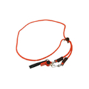 Mendota Whistle Lanyard - Sgl - Orange