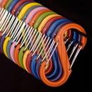 NiteIze SBP0-2PK-10 S-Biner Plastic, Size #0 - Red 2 pack