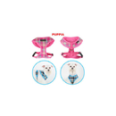 Puppia Harness - Spring A Pink Lg
