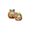 Tuffy'S Silly Squeakers-Iballs- Medium, Brown