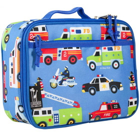 Wildkin 33111 Olive Kids Heroes Lunch Box, Blue