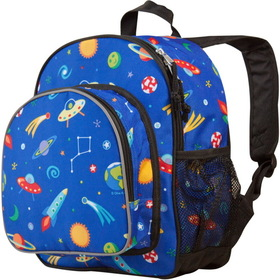 Wildkin 40077 Olive Kids Out of This World Pack 'n Snack Backpack, Blue