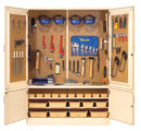 Diversified Woodcrafts TC-10WT Woodworking Tool Storage Cabinet With Tools